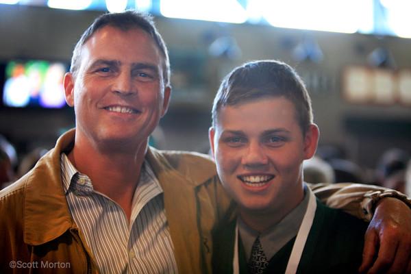Dave and Colton Kline