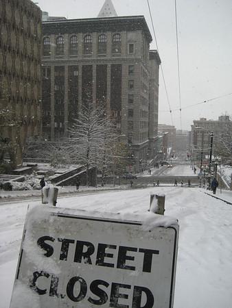 Snow In Seattle - Winter 2008-09