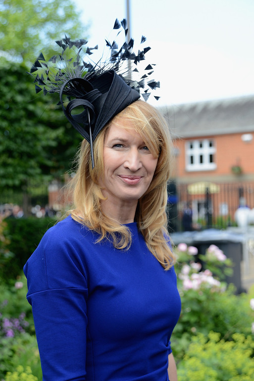 . Professional Tennis player Stefanie \'Steffi\' Graf attends day one of Royal Ascot at Ascot Racecourse on June 17, 2014 in Ascot, England.  (Photo by Kirstin Sinclair/Getty Images for Ascot Racecourse)