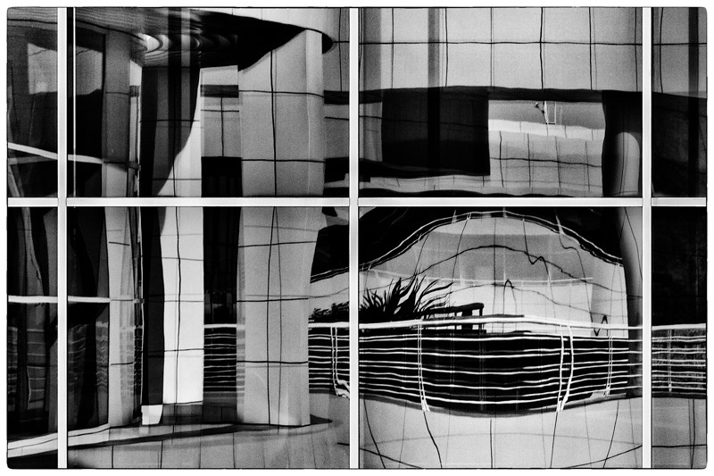 April 6 - Wobbly Reflections, The Getty, Los Angeles.jpg