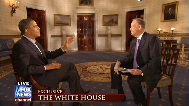 . <p><b>11. BARACK OBAMA & BILL O�REILLY</b> <p>Half the country went to the bathroom when their interview started. The other half ran to it after listening to their bilge. <p>   (Photo from YouTube)