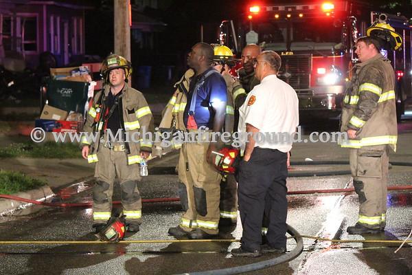 6/6/20 - Lansing house fire, 100 block E. Mt Hope