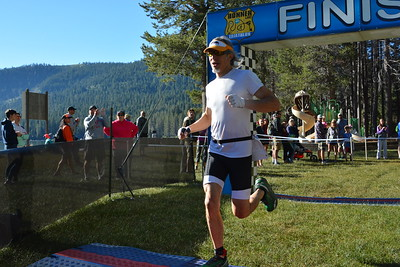 Donner Lake Tri Sprint Finish