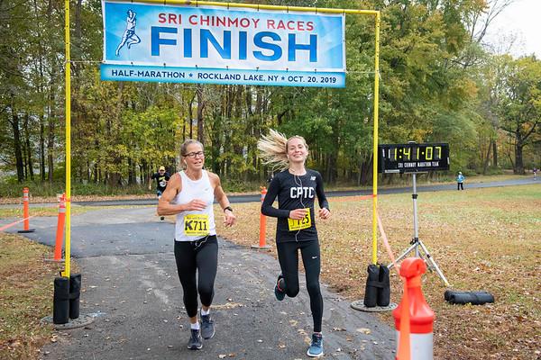 Half-Marathon Rockland Lake 2019