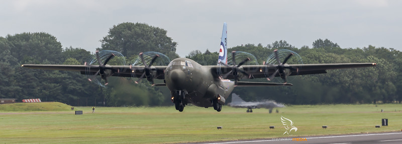 Royal Air Force / Lockheed C-130J Hercules / ZH883