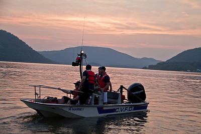 5-21-13 Boat Drill, Hudson River
