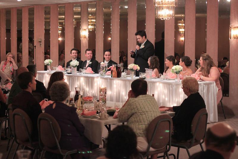 Chris makes his speech