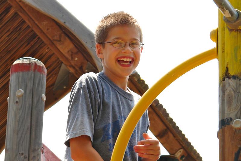 Paul at the playground - 3