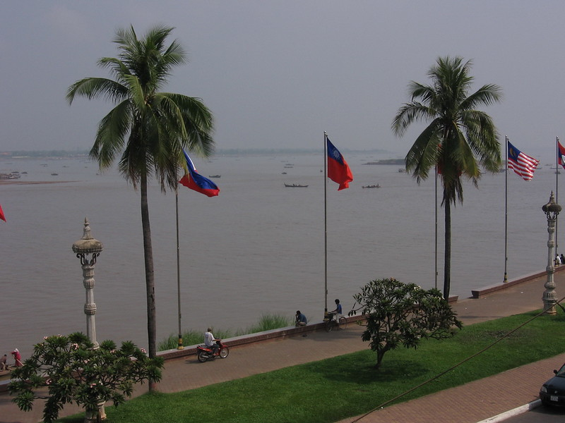 The Mekong River.