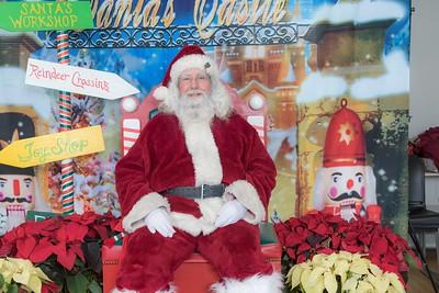 Santa in Fort Lee  Dec 16, 2017