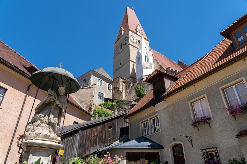 The White Church in Weissenkirchen, Austria