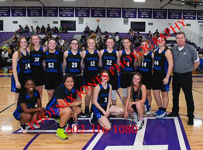 1-9-2020 - NCS v Kingman Academy - Girls Basketball