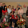 Celebrating her great age of 100 years is Sarah Millar from Divernagh in Bessbrook, Sarah(seated centre) received a special bouquet of flowers from the N&M council which presented by the Mayor Michael Carr, Helping Sarah to celebrate her special birthday were her nieces Sandra Mc Cormack, Andrea Huddleton, Lynn Richardson and Faith Pickering, Nephews Philip Barron and Ronnie Millar and sister in-law Mrs Margaret Barron, The Rev & Mrs Barry and Councillor Danny Kennedy. 06W39N66