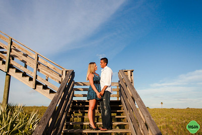 Erika & Edy | A New Smyrna Beach Engagement