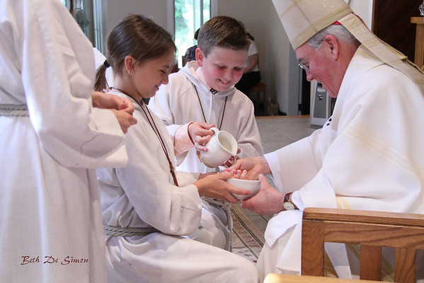 Baptism, Confirmation & First Eucharist w Bishop Richard Malone 2011 ~ ALL Photos Taken at Event