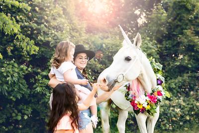 Smith girls' unicorn session
