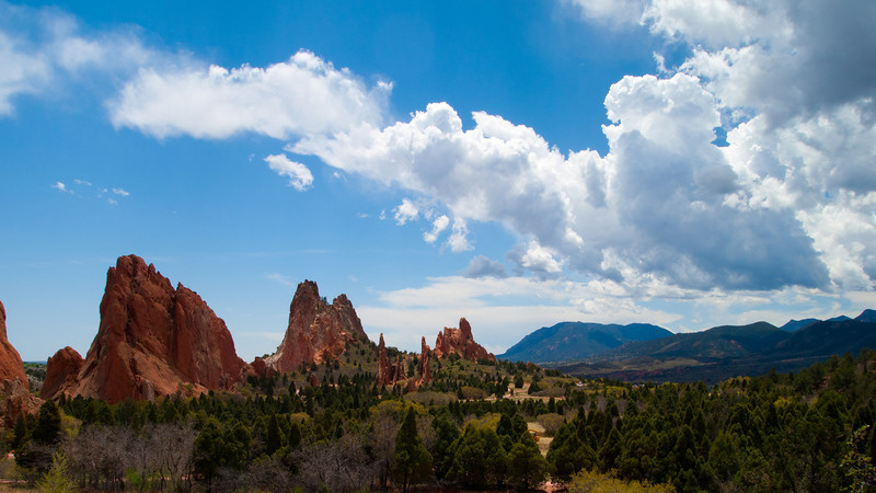 Garden of the Gods Cathedral valley