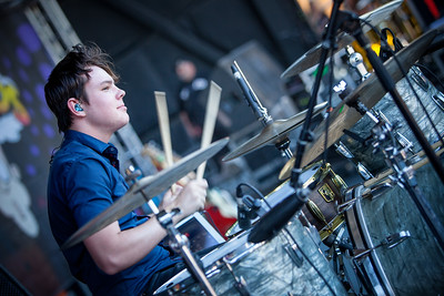 Echosmith at Vans Warped Tour June 2014