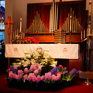 April 21, 2019, Vermilion's Trinity Lutheran Church celebrates Easter Sunday.