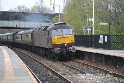 The North Wales Coast Express 19-4-14
