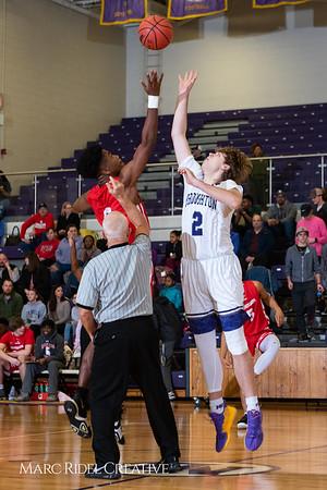 Broughton boys varsity basketball vs Sanderson. Play 4 Kay. January 17, 2019. 750_4653