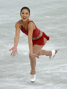 * MICHELLE KWAN * Olympic Ice Skater