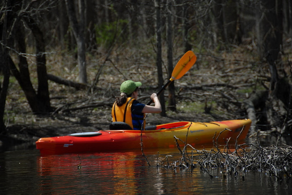 2009-04-18 Kayaking Great Swamp