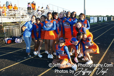 10-08-2010 Watkins Mill HS Band, Varsity Cheerleading, Poms, Photos by Jeffrey Vogt Photography