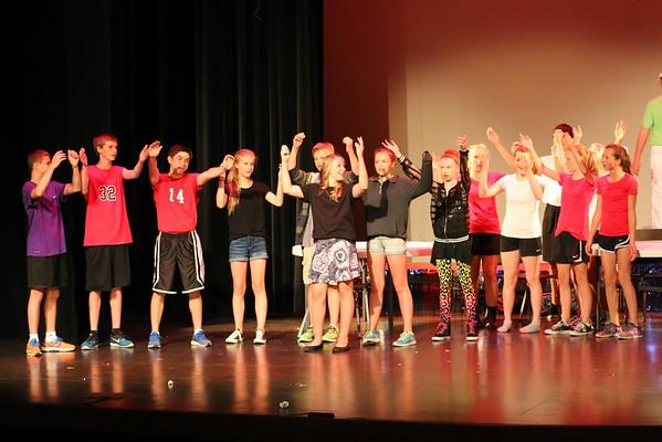 'HS Musical' - KCMS Musical - 6/2/15