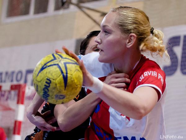 21. kolo: Slavia - Most 33:24
