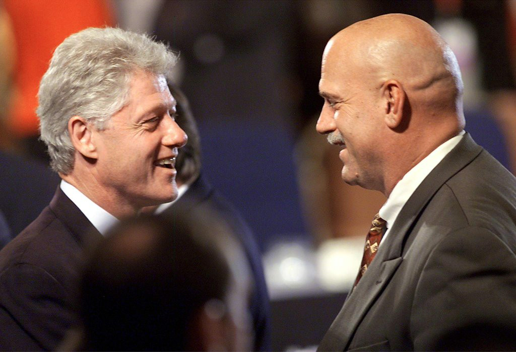. <p>3:16 P.M.  </p><p>Sends text message to Bill Clinton, asking if former president can recommend any good interns in the Cabo San Lucas area. </p><p>   (Stephen Jaffe/AFP/Getty Images)</p>