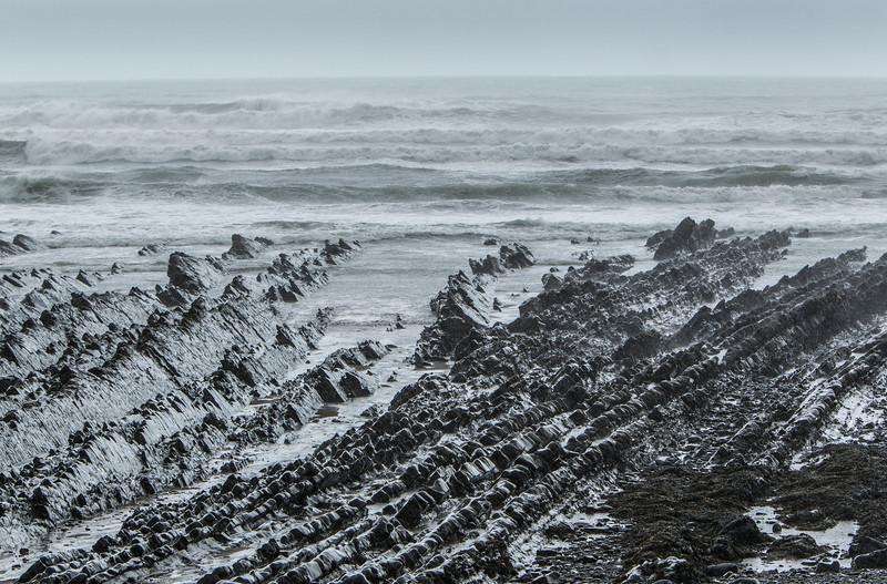 Rain-soaked Rocks