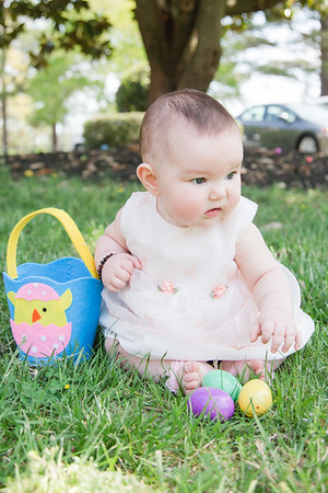 Tori's First Easter
