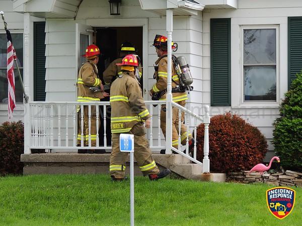 Smoke investigation on June 17, 2014