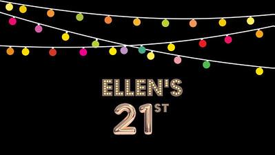 07.08 Ellen's 21st