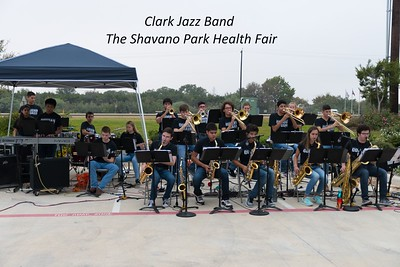 20171104 Clark Jazz Band at The Shavano Park Health Fair