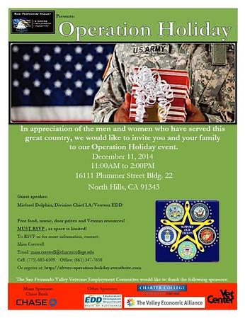 12-11-2014 OPERATION HOLIDAY