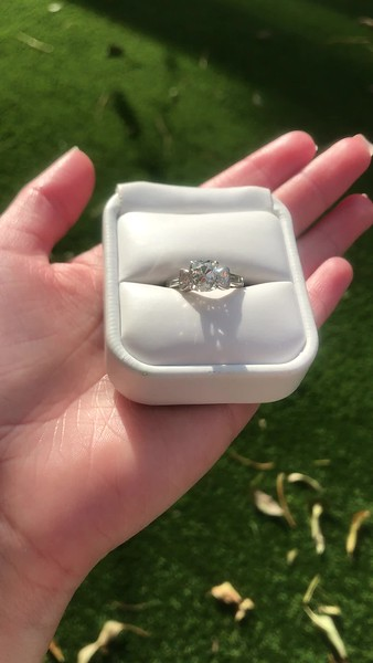 2.35ct Cushion Cut Diamond Ring, GIA J VS2