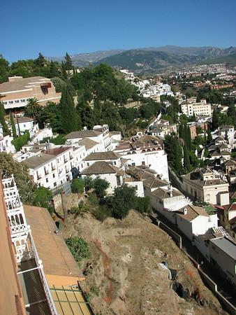 Granada Spain, Alhambra Palace, June 29-30
