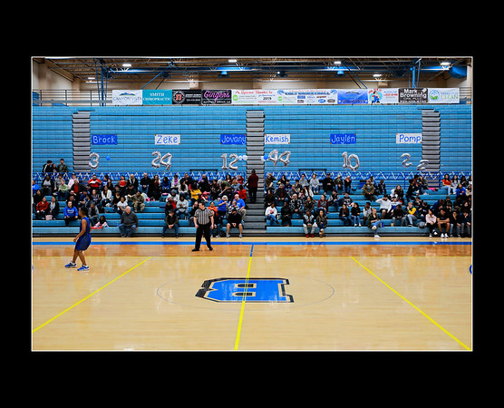 Buena Basketball Senior Night