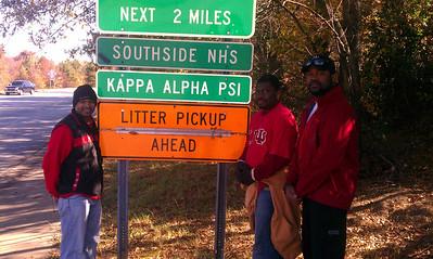 2012 Kappa's at Adopt A Highway