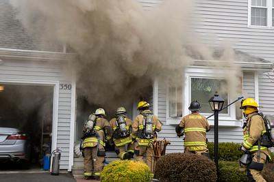 Green Rock 2nd Alarm Fire (Shelton, CT) 4/4/21
