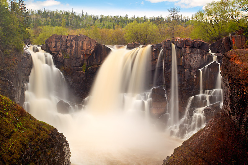 Spring Flows - High Falls (Grand Portage State Park - Minnesota)