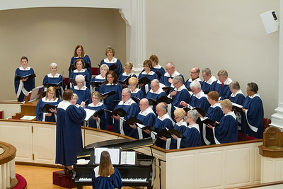 Hand Bells and Choir Dec 2015