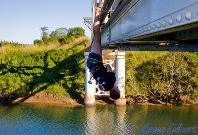Bridge Swinging.