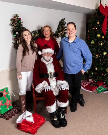 Carol McDonald's Santa party