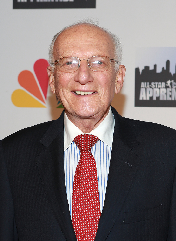 ". George Ross attends ""All Star Celebrity Apprentice\"" Finale at Cipriani 42nd Street on May 19, 2013 in New York City.  (Photo by Robin Marchant/Getty Images)"