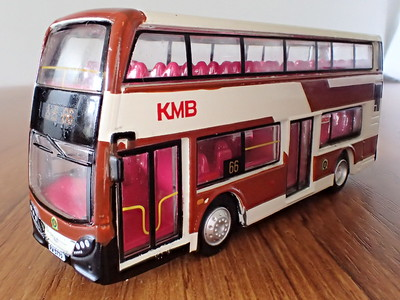 35 KMB Enviro 400 80th. Anniversary (Brown)