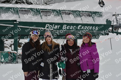 Photos on the  Slopes 12-16-19