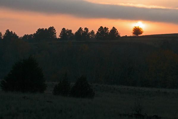 Bennington Lake Sunset 11-20-15